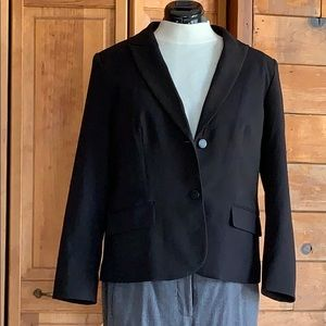 Calvin Klein two button lined blazer size 14